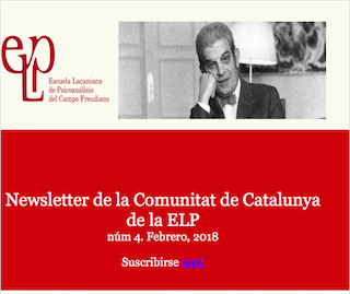 Nueva Newsletter de la CdC ELP